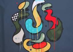 Mambo - family balance - acrylic on canvas