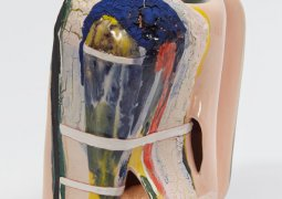 Kathy Butterly, Co-, 2014, clay, glaze, 6 x 6 x 3 3/4 inches