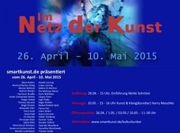 Im Netz der Kunst (In the Net of Art), Flyer