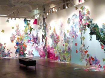 Pretty Pollution: New bodies of work by Douglas Alvarez and Kimber Berry