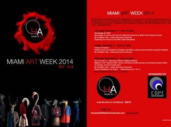House of Art Future of Fashion Invitation